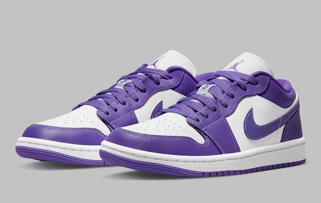 Air Jordan 1 Low Psychic Purple Foto 1