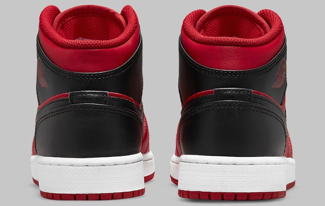 Air Jordan 1 Mid Reverse Bred Foto 5