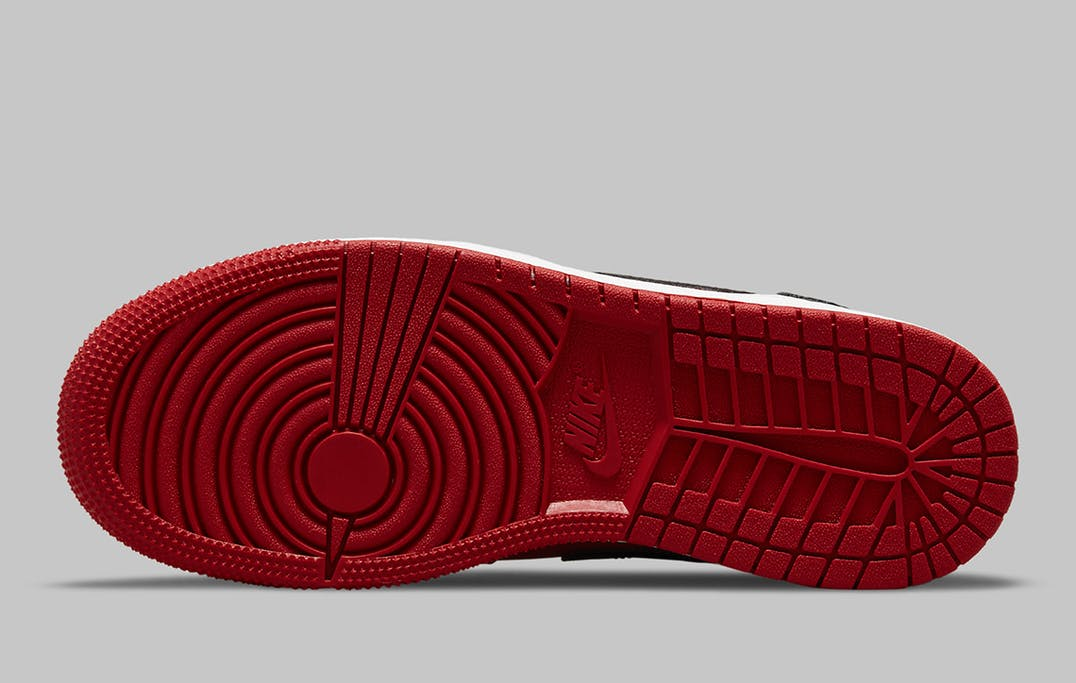 Air Jordan 1 Mid Reverse Bred Foto 6