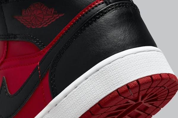 Air Jordan 1 Mid Reverse Bred Foto 7