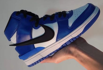 Ambush x Nike Dunk High Deep Royal foto 1