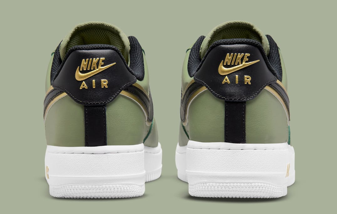 Nike Air Force 1 Low Double Swoosh Olive foto 5
