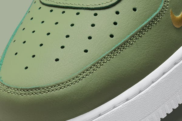Nike Air Force 1 Low Double Swoosh Olive foto 7