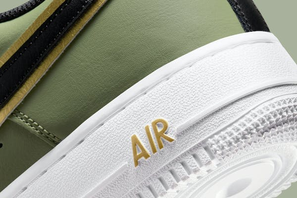 Nike Air Force 1 Low Double Swoosh Olive foto 8