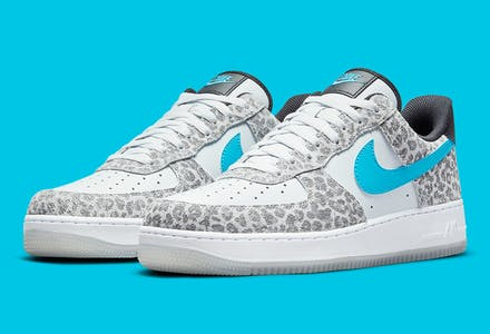 Nike Air Force 1 Low Leopard Print foto 1
