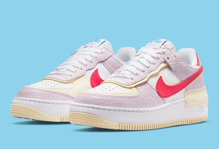 Nike Air Force 1 Shadow Regal Pink Foto 1