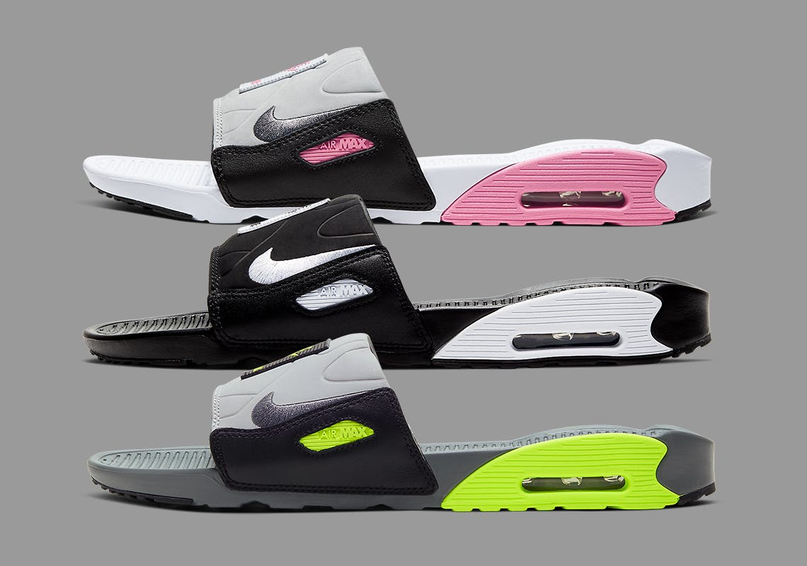 Nike Air Max 90 Slide Rose