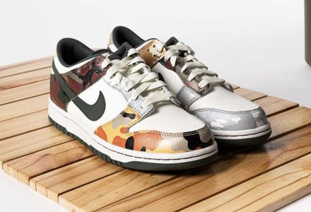 Nike Dunk Low SE Multi Camo Foto 5