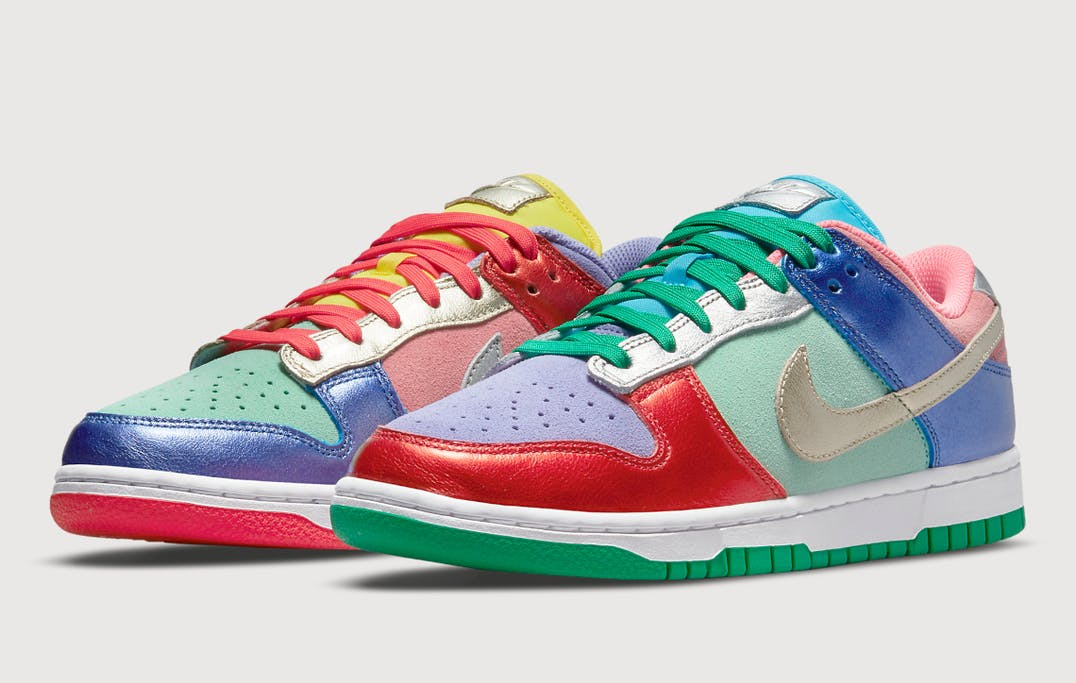 Nike Dunk Low Sunset Pulse foto 1