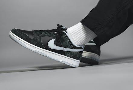 Nike Dunk Low Zebra Foto 1
