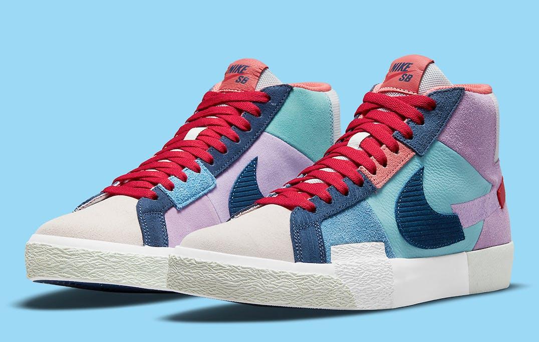 Nike SB Blazer Mid Mosaic foto 2