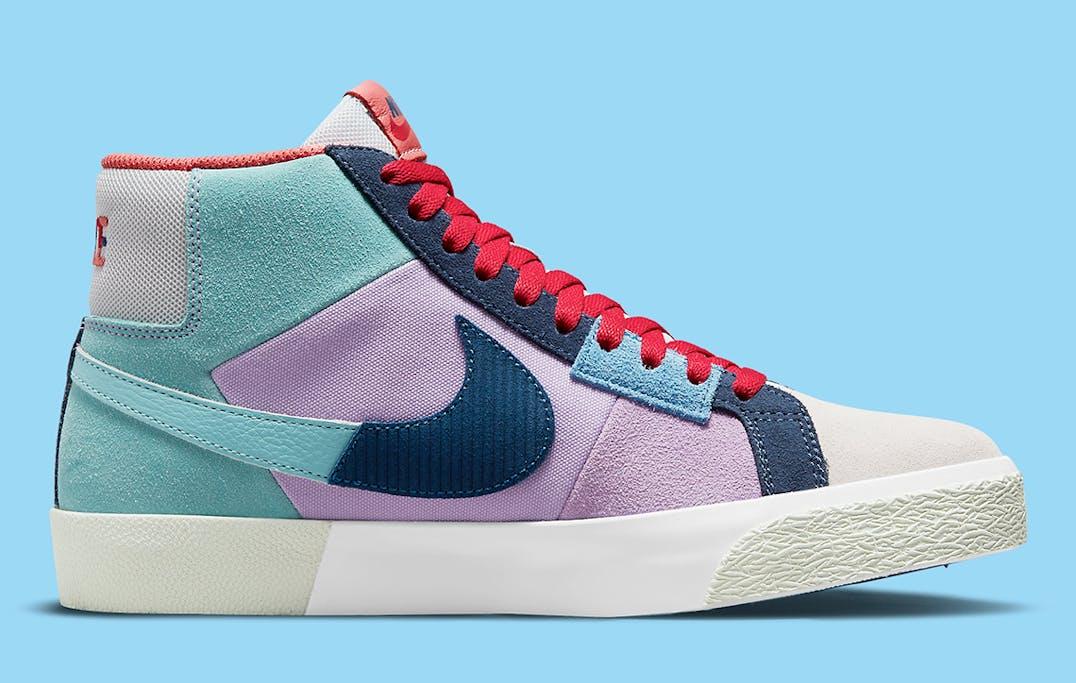 Nike SB Blazer Mid Mosaic foto 3