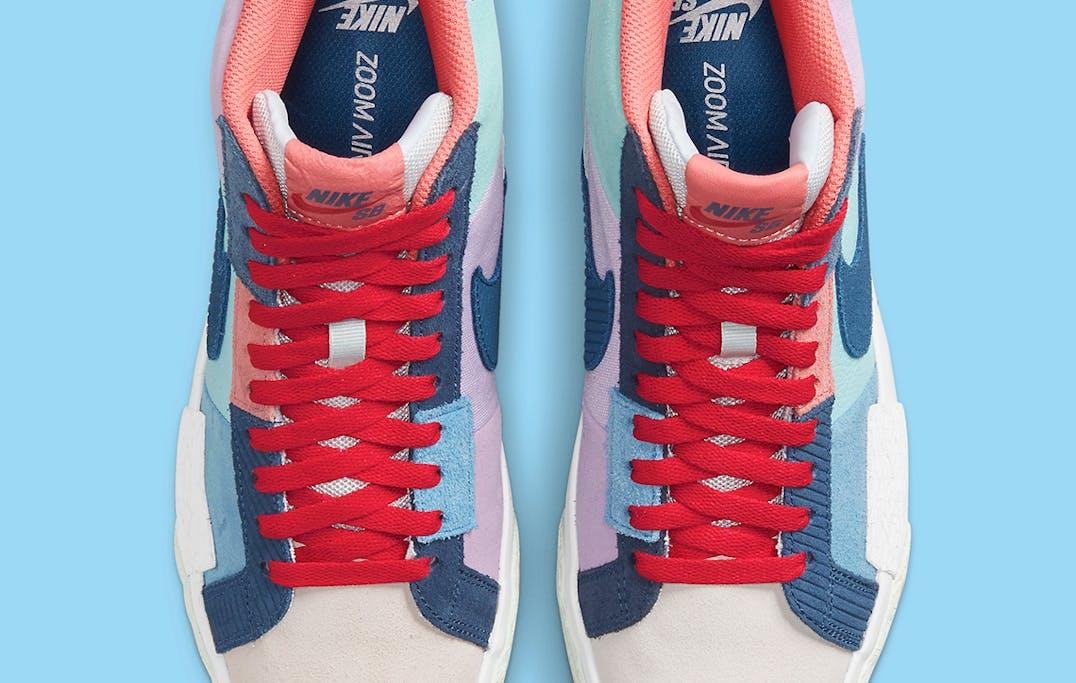 Nike SB Blazer Mid Mosaic foto 4
