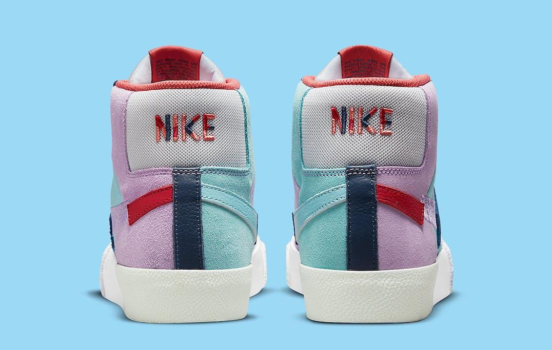 Nike SB Blazer Mid Mosaic foto 5