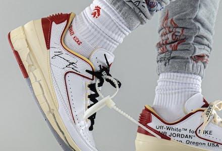 Off White x Air Jordan 2 Low Foto 7