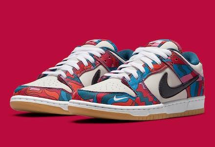 Parra x Nike SB Dunk Low Foto 1