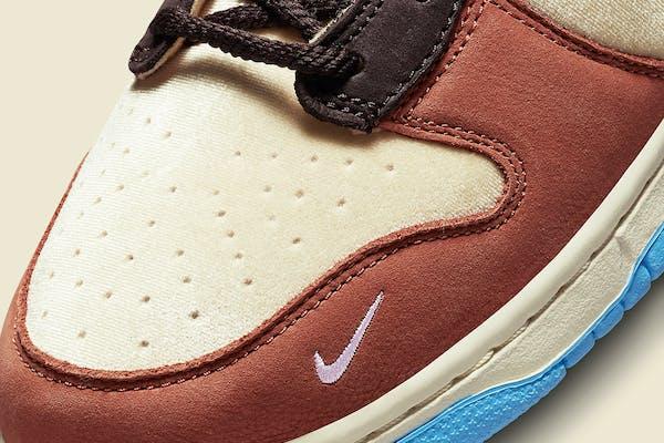 Social Status x Nike Dunk Mid Burnt Brown Foto 1