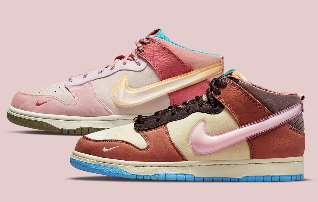 Social Status x Nike Dunk Mid Foto 1