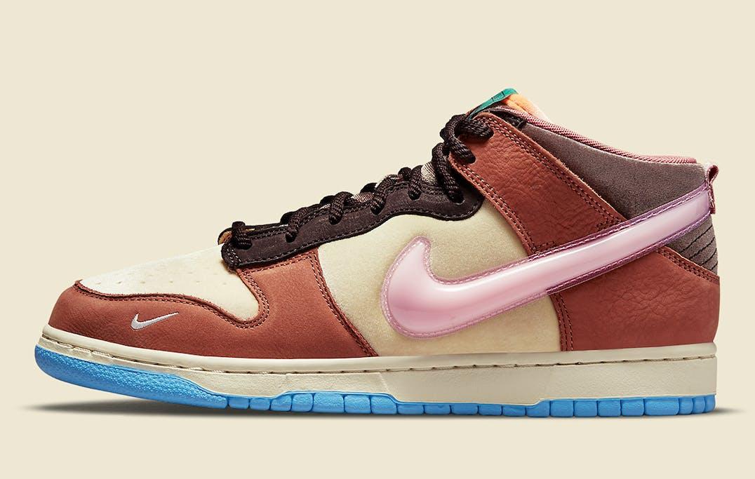 Social Status x Nike Dunk Mid Foto 2