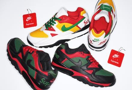 Supreme x Nike Cross Trainer Low Foto 1