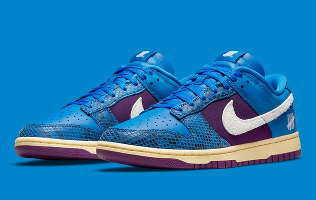 UNDEFEATED x Nike Dunk Low 5 On It Foto 1