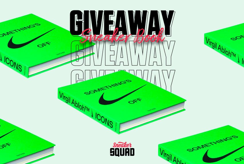 Sneaker squad giveaway 5 icons nike book