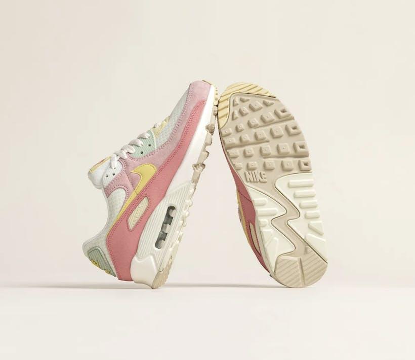 "Check de Nike Air Max 90 ""Pink Salt"""