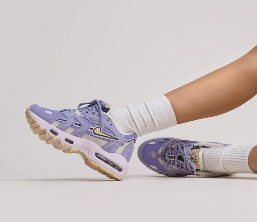 """Check deze Nike Air Max 96 II WMNS """"Purple Dawn"""""""