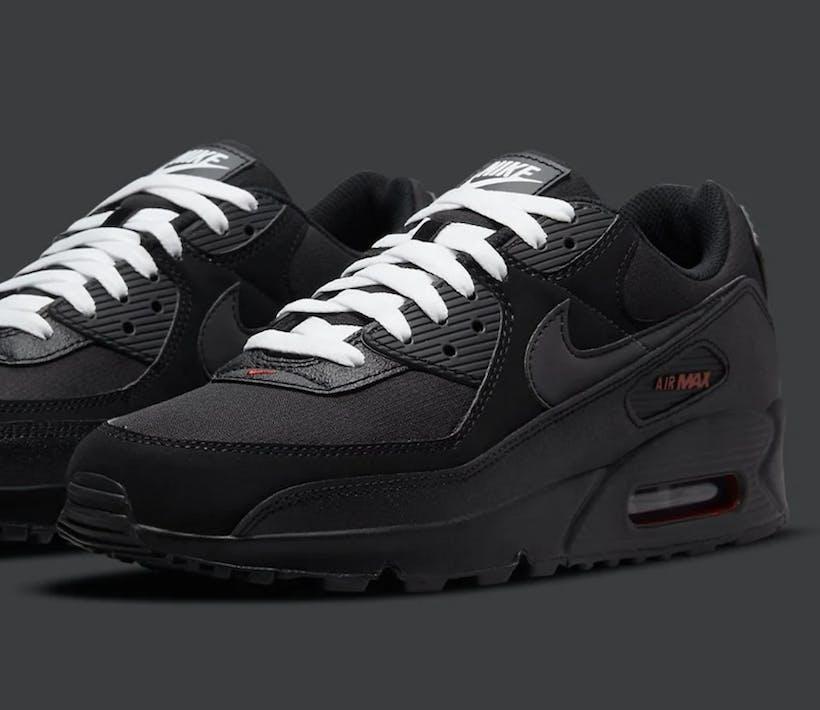 "Check de Nike Air Max 90 ""Sport Red"""