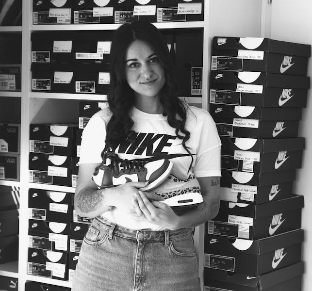 Interview sneaker squad Priscilla Hoppener verzamelaar sneakers