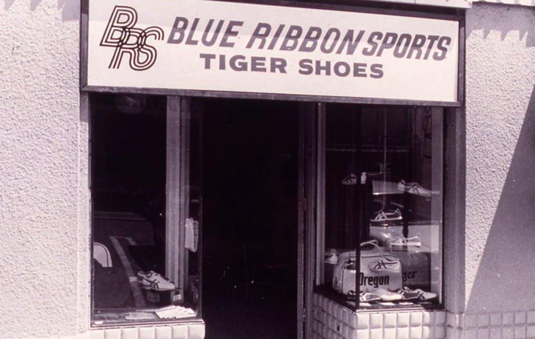 Sneaker abc waar staat Blue Ribbon Sports voor Nike v2