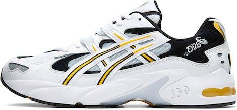 1021A163-100 ASICS Gel-Kayano 5 OG White Saffron