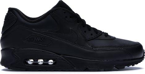 302519-001 Nike Air Max 90 Leather Black
