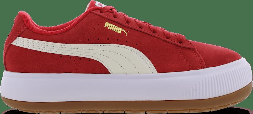 380686-08 Puma Suede Mayu -  - Pink - Leer - Maat 36 - Foot Locker