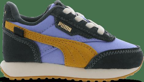 382832-02 Puma Future Rider -  - Green - Leer, Textil - Maat 20 - Foot Locker