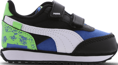 382857-01 Puma Future Rider -  - Blue - Leer, Textil - Maat 20 - Foot Locker