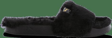 383067-01 Puma Leadcat -  - Black - Mesh/Synthetisch - Maat 36 - Foot Locker