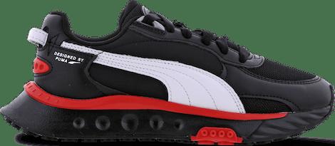385164-01 Puma Wild Rider -  - Black - Synthetisch, Leer - Maat 35.5 - Foot Locker
