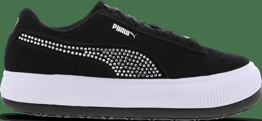 385515-01 Puma Suede Mayu Fashion Week -  - Black - Leer - Maat 36 - Foot Locker