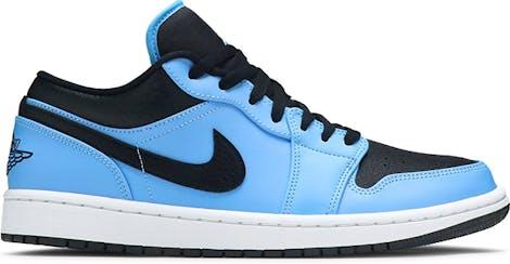 "553558-403 Air Jordan 1 Low ""University Blue"""