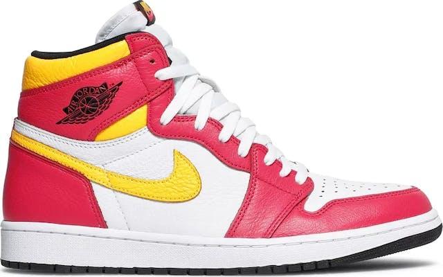 "555088-603 Air Jordan 1 High OG ""Light Fusion Red"""