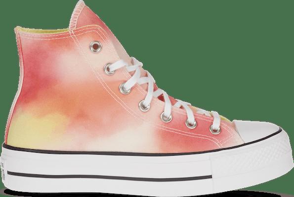 572572C Converse Run Star Hike -  - Pink - Textil - Maat 35 - Foot Locker