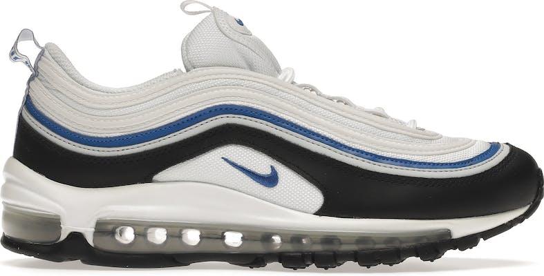 921522-107 Nike Air Max 97 White Black Signal Blue