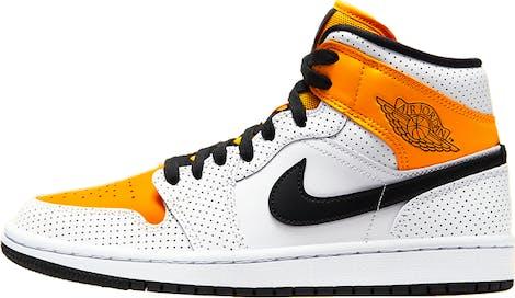 "BQ6472-107 Air Jordan 1 Mid WMNS ""Laser Orange"""
