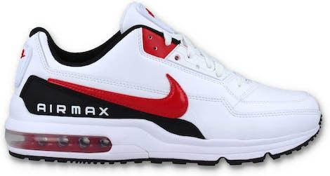 BV1171-100 Nike Air Max LTD 3 White Red Black