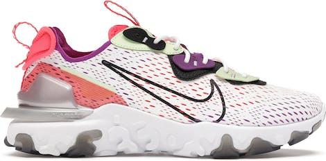 CD4373-102 Nike React Vision Barely Volt Laser Crimson