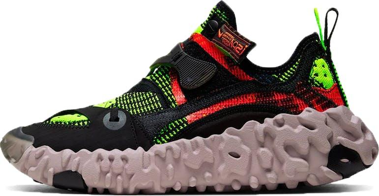 CD9664-001 Nike ISPA Overreact Black Red Volt