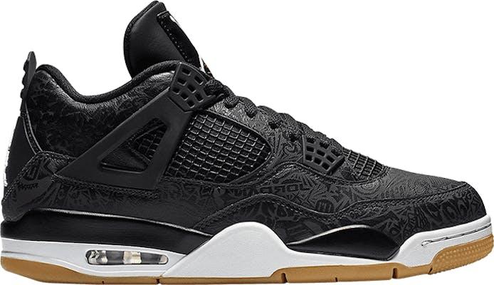 "CI1184-001 Air Jordan 4 Retro ""Black Laser"""