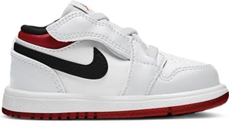 CI3436-118 Jordan 1 Low -  - White - Leer, Textil - Maat 21 - Foot Locker
