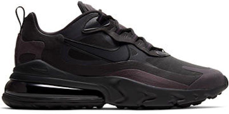 CI3866-003 Nike Air Max 270 React Black Oil Grey